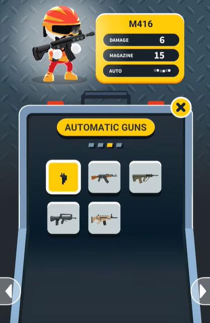 Johnny Trigger guns