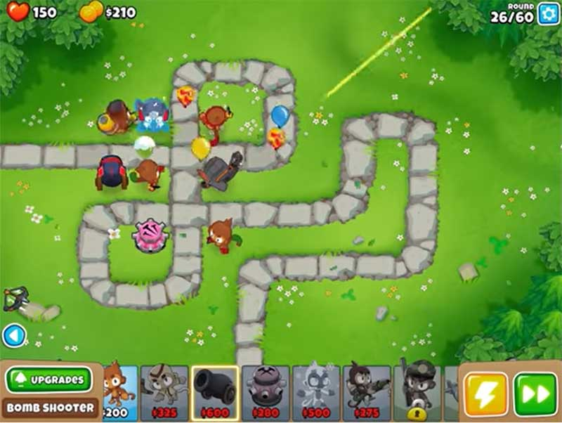 Bloons TD 6 game play