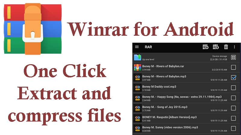 Winrar for Android