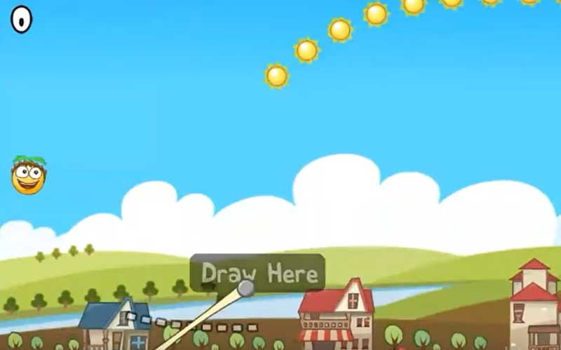 Bouncy Seed game play