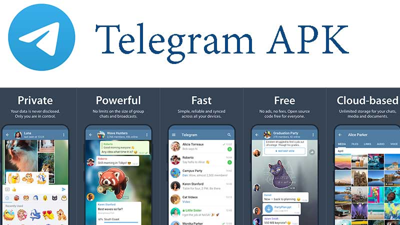 Telegram APK free Download