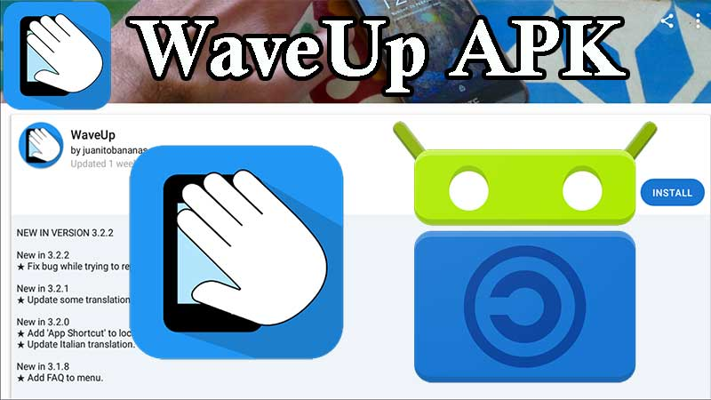 WaveUP and Tasker plugin for Android