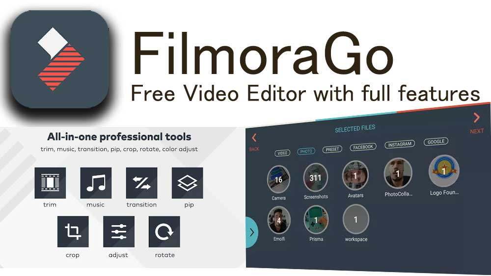 Filmora GO Free Android Video Editor
