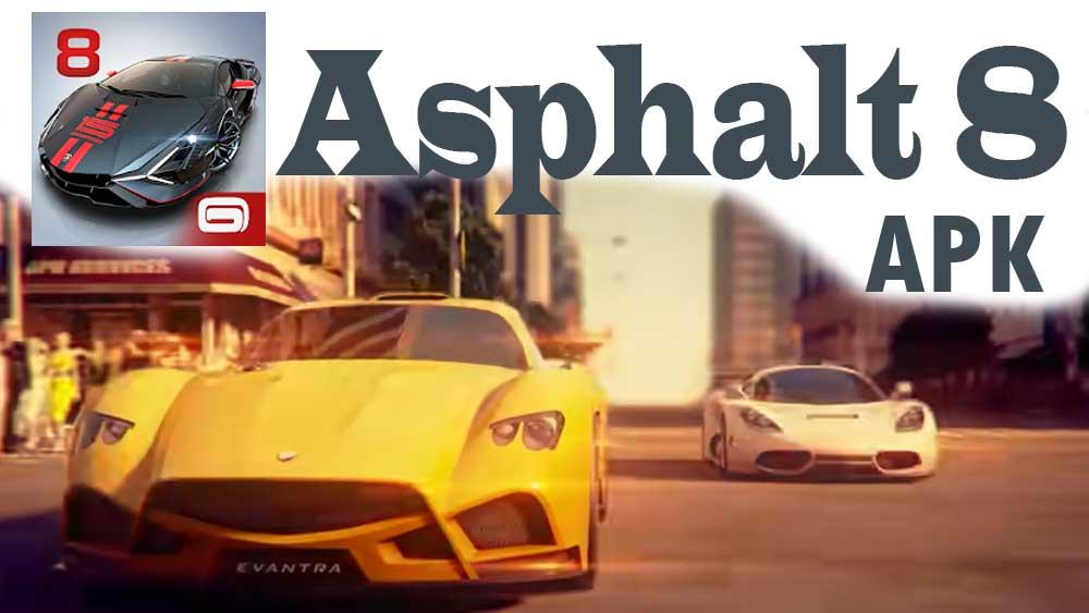 asphalt 8 apk free